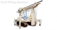 Roof Pilling Machine